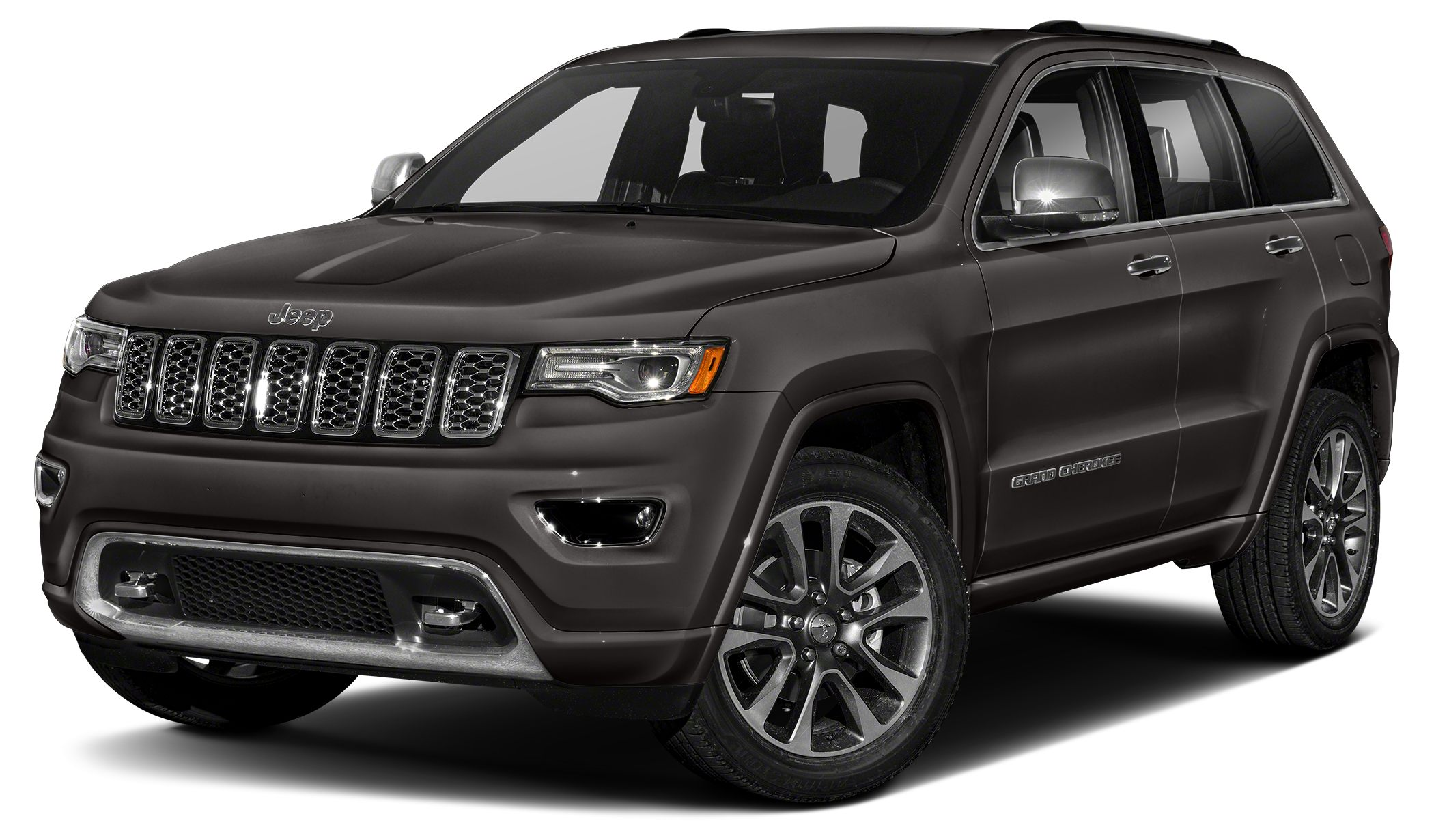 2017 Jeep Grand Cherokee Overland Color Granite Crystal Clearcoat Metallic Stock 17R252 VIN 1