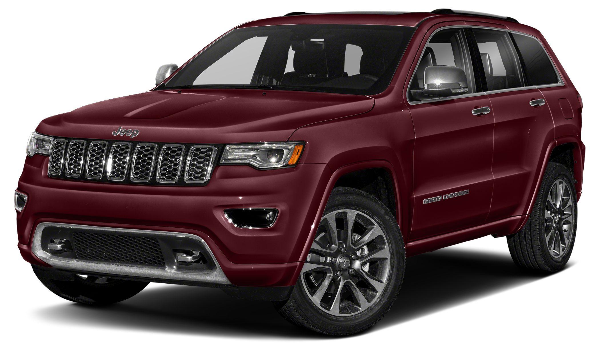 2017 Jeep Grand Cherokee Overland Color Velvet Red Pearlcoat Stock 17R253 VIN 1C4RJECG0HC7706