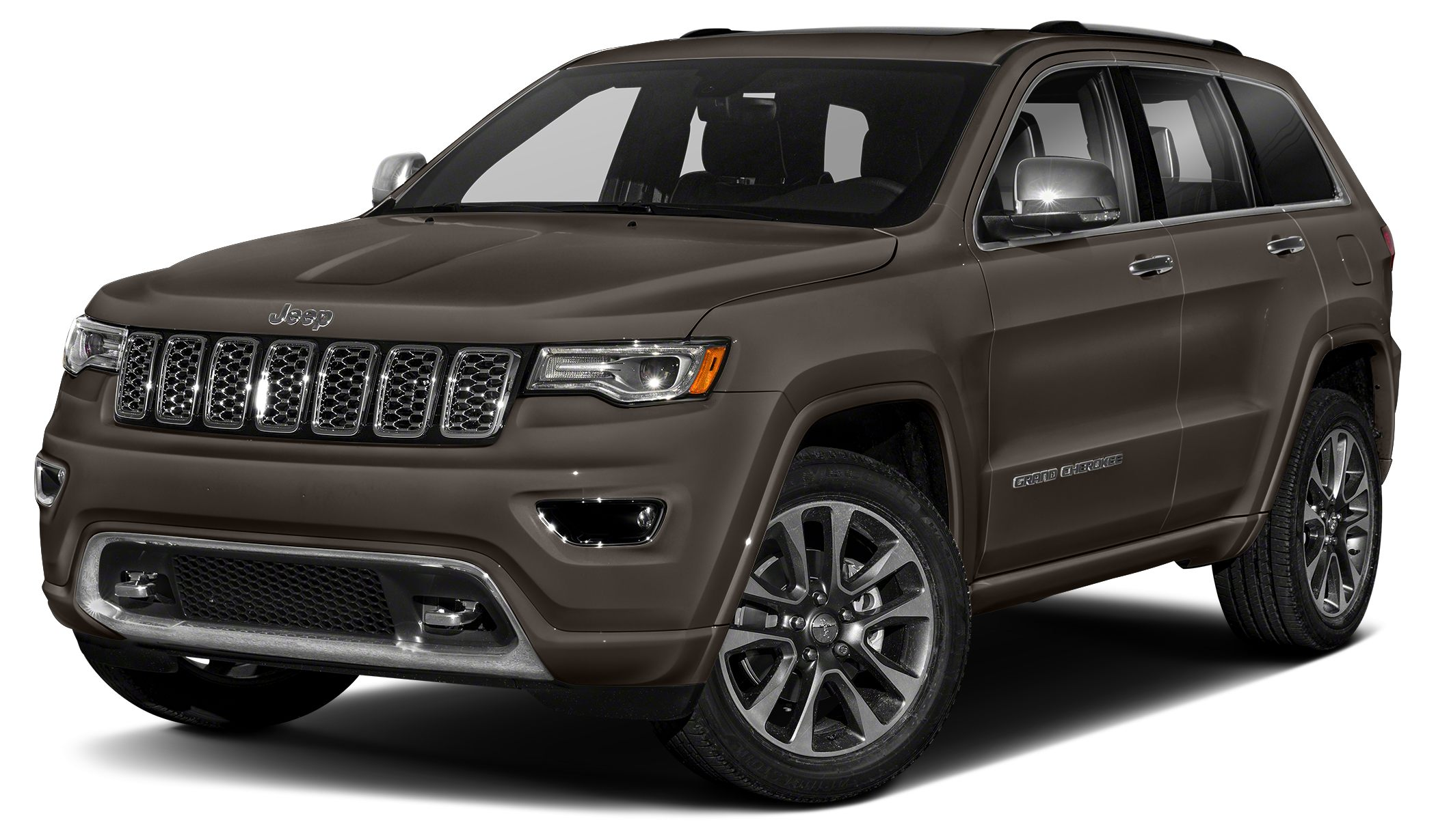 2018 Jeep Grand Cherokee Overland Real gas sipper 26 MPG Hwy New In Stock A amazing vehicle
