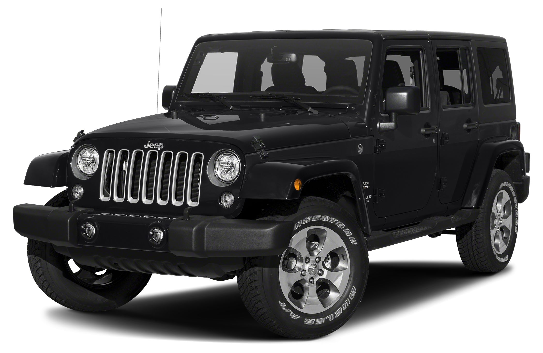 2017 Jeep Wrangler Unlimited Sahara 2017 Jeep Wrangler Unlimited Sahara in Black Clearcoat vehicle