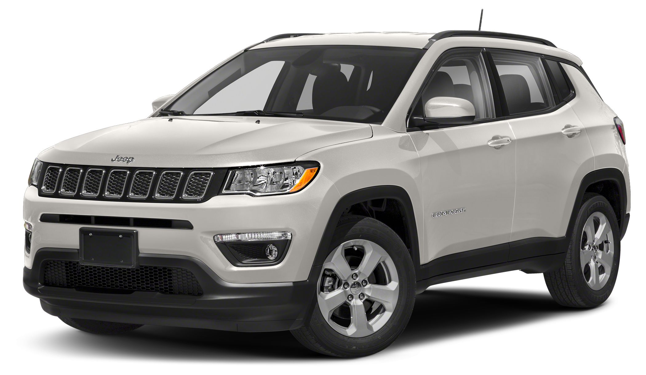 2018 Jeep Compass Limited Miles 1Color White Clearcoat Stock J1807 VIN 3C4NJCCBXJT122466