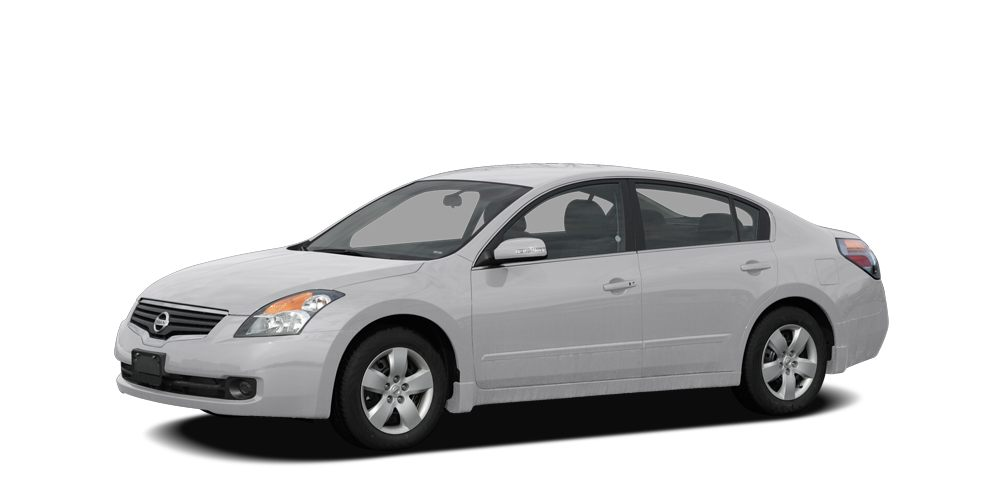 2008 Nissan Altima 25 S Radiant Silver Metallic exterior and Charcoal interior 25 S trim Runnin