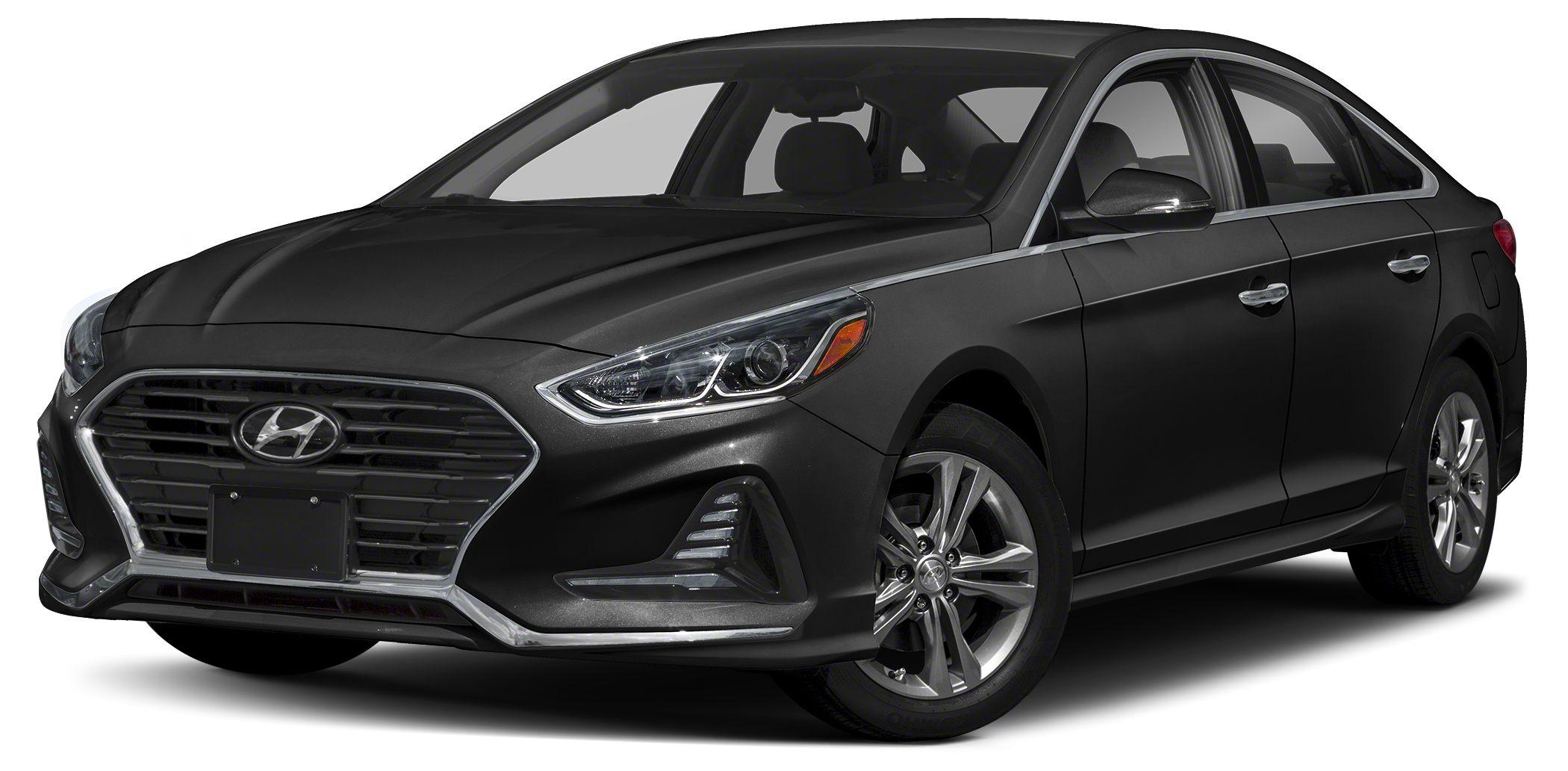2018 Hyundai Sonata SEL Bluetooth Miles 10Color Phantom Black Stock 15571 VIN 5NPE34AF8JH64