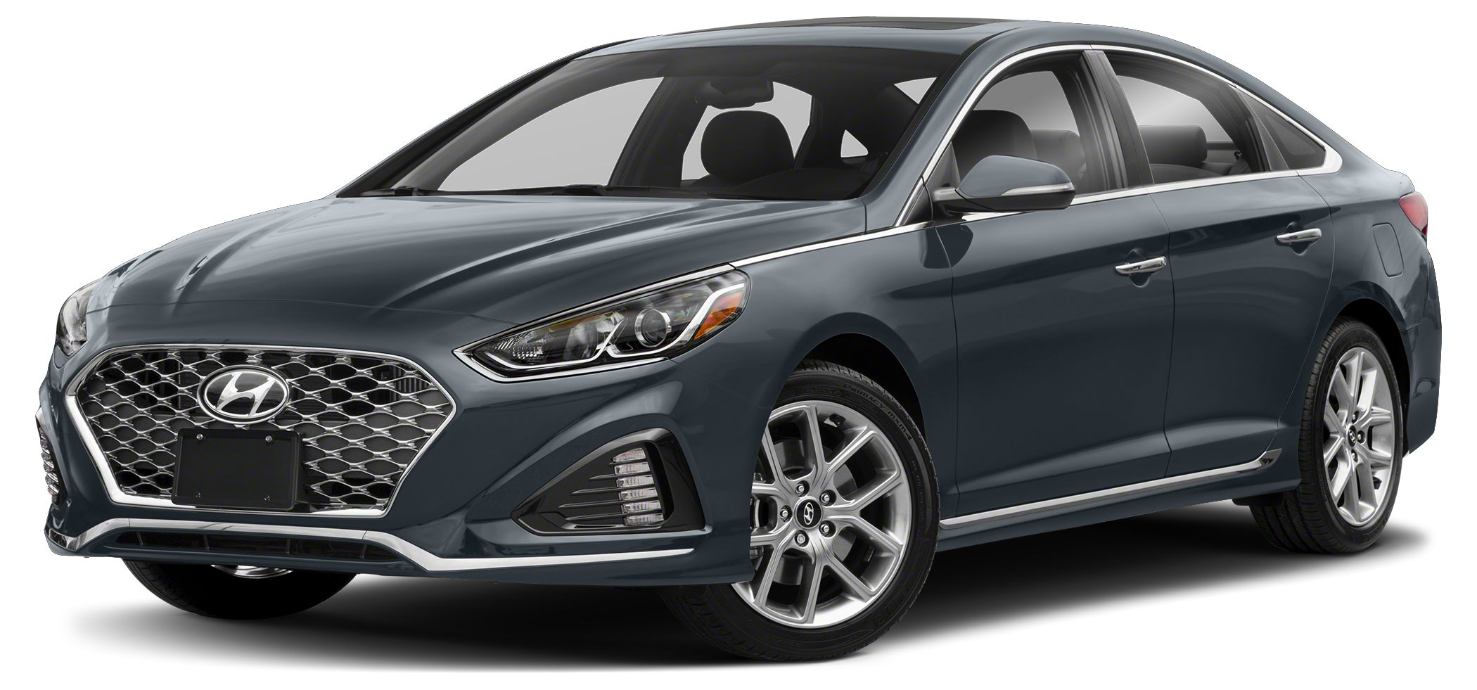 2018 Hyundai Sonata Sport 20T 20L Turbo Gasoline Direct Injection 4-Cylinder Engine Blue Link
