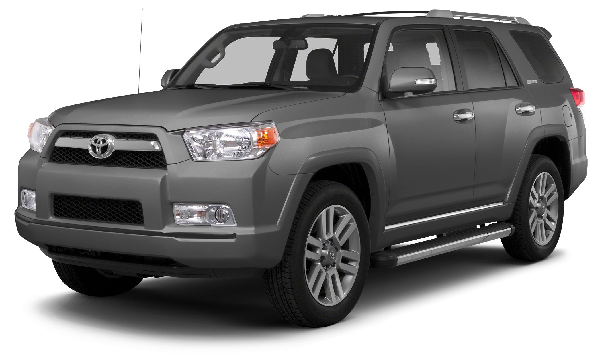 2013 Toyota 4Runner SR5 SR5 trim MAGNETIC GRAY METALLIC exterior and BLACK UPPERSEAT GRAPHITE LO