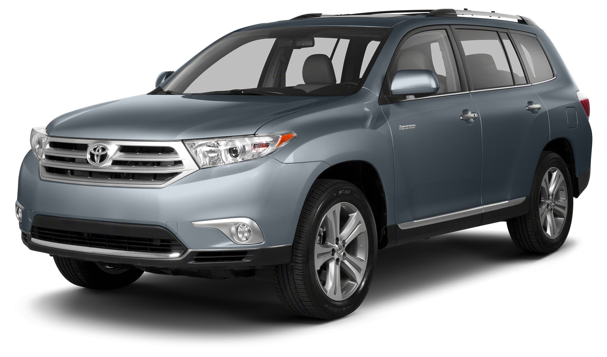 2013 Toyota Highlander SE CARFAX 1-Owner GREAT MILES 38878 SHORELINE BLUE PEARL exterior and SA