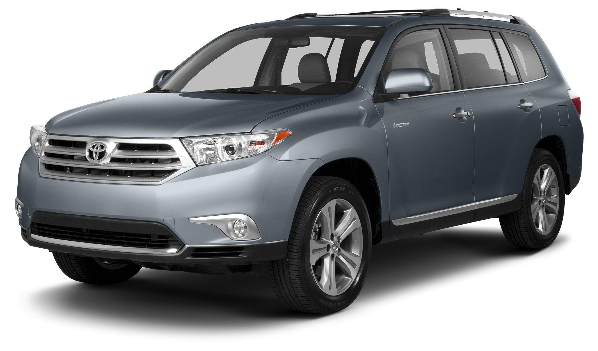 2013 Toyota Highlander Base Plus LOW MILES - 52391 Plus trim PRICE DROP FROM 21465 PRICED TO