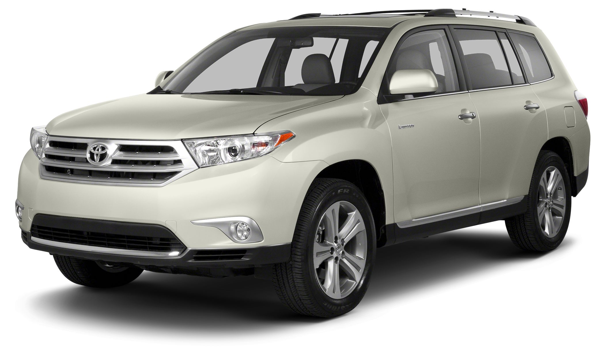 2013 Toyota Highlander Limited Toyota Certified LOW MILES - 50844 BLIZZARD PEARL exterior and S