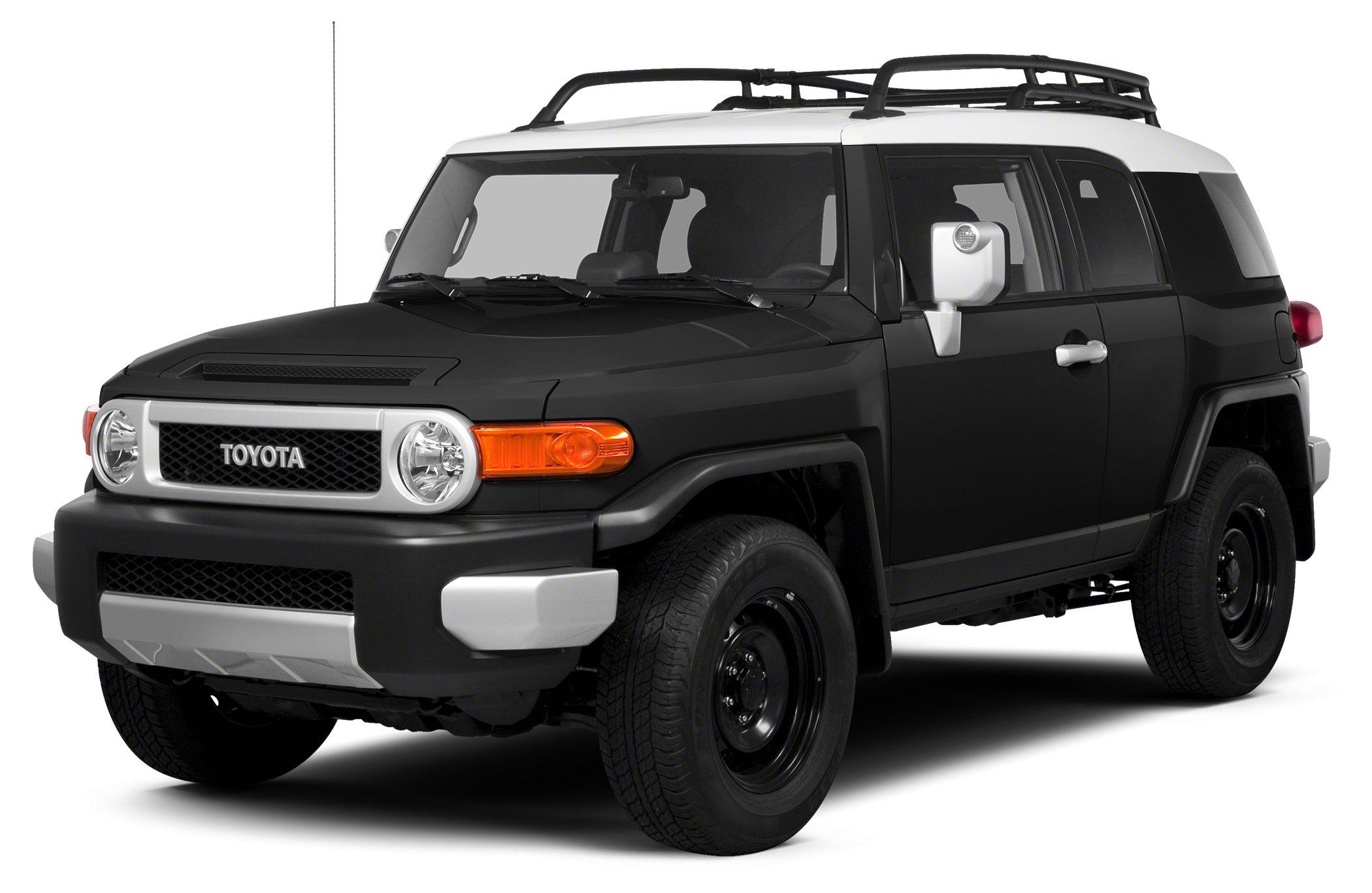 2013 Toyota FJ Cruiser Base Miles 56761Color Black Stock U3478 VIN JTEBU4BF8DK160770