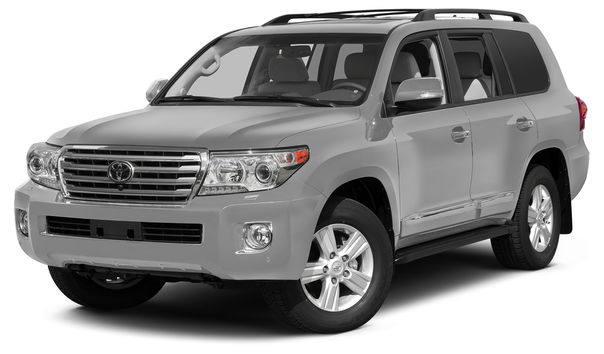 2015 Toyota Land Cruiser Base Miles 2Color Silver Stock T26394 VIN JTMHY7AJ9F4030692