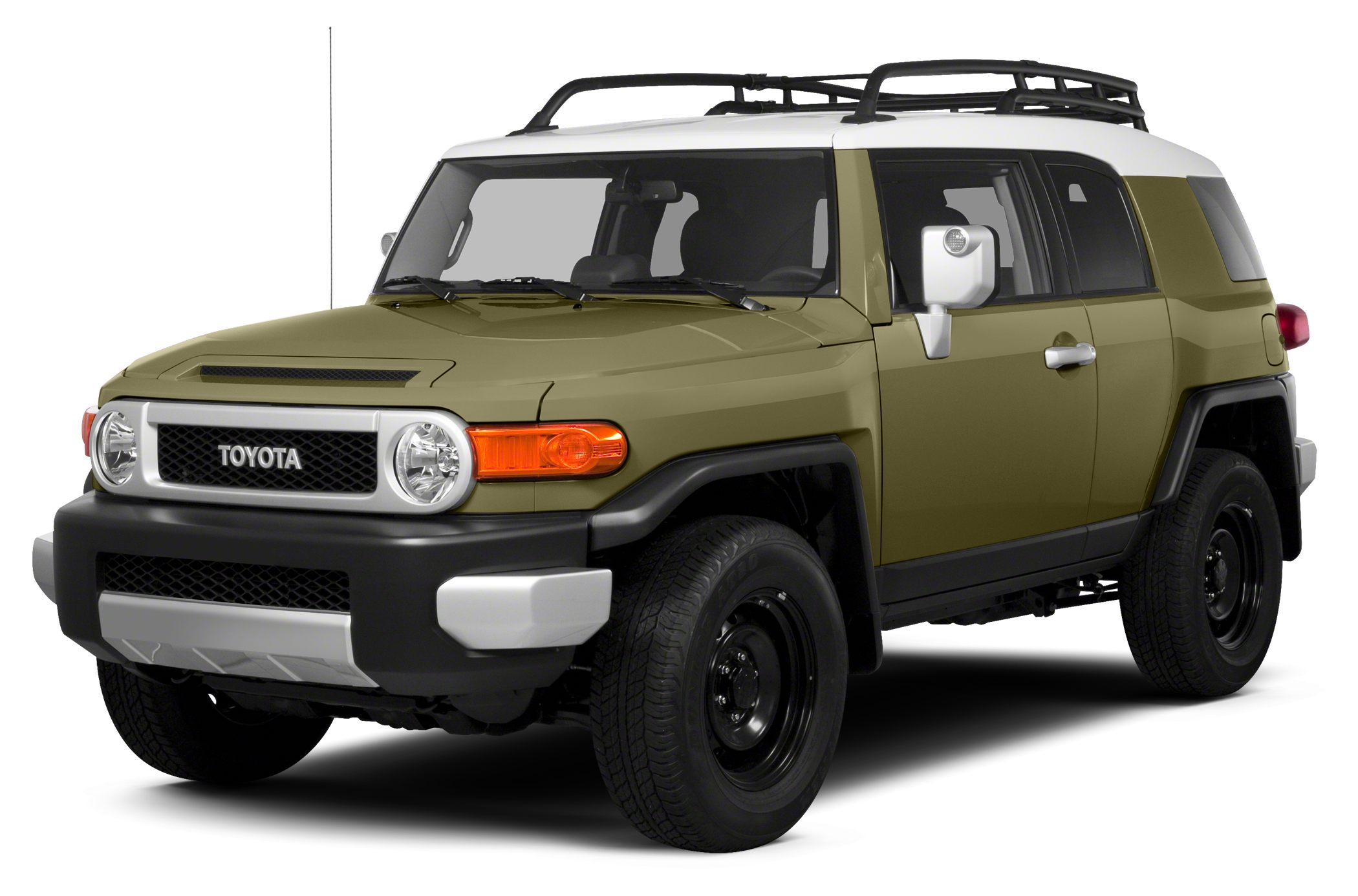 2013 Toyota FJ Cruiser Base CEMENT exterior and DARK CHARCOAL interior FJ Cruiser trim CARFAX 1-