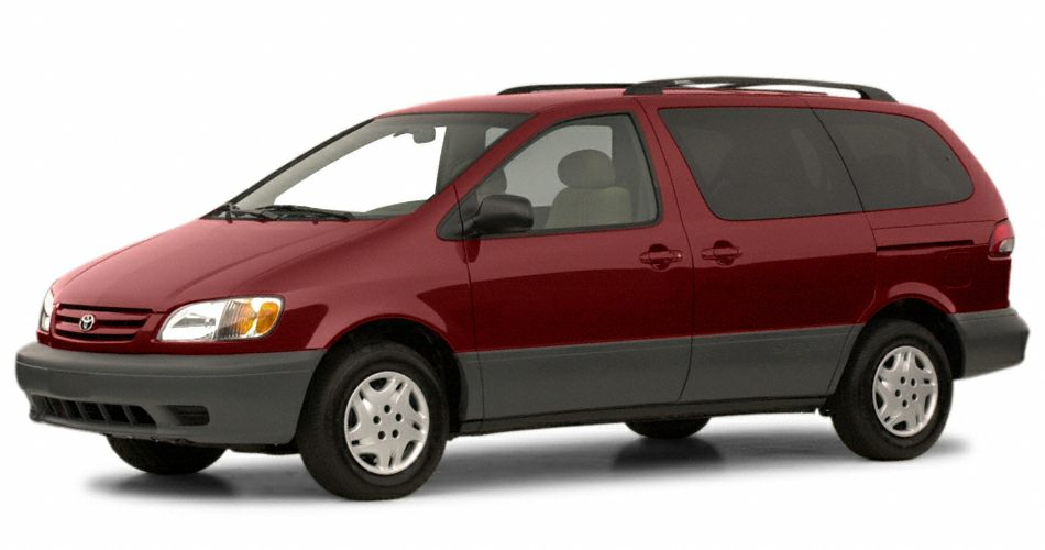 2001 Toyota Sienna  The Regal Honda Advantage Real Winner The never-smoked-in smell of this 2001