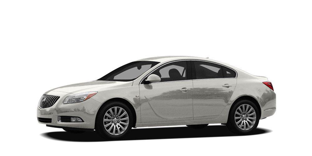 2011 Buick Regal CXL Miles 93296Color White Stock SB17115A VIN W04GR5EC9B1092950