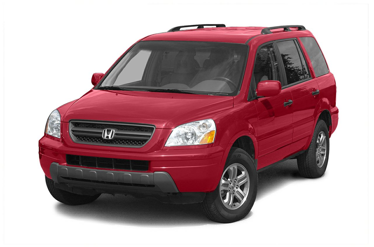 2004 Honda Pilot EX-L CLEAN CARFAX DONT LET THE MILES FOOL YOU LOCALLY SERVICED TRADE-IN LEATH