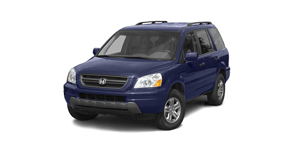 2004 Honda Pilot EX-L Miles 147082Color Blue Stock 13F96B VIN 2HKYF18564H505038