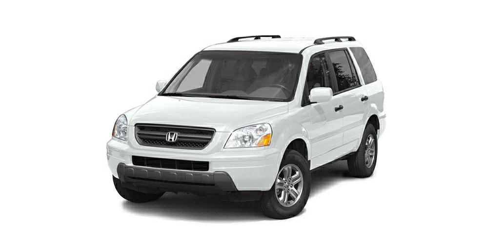 2004 Honda Pilot EX-L Miles 139585Color Taffeta White Stock 16A509B VIN 5FNYF18554B010828