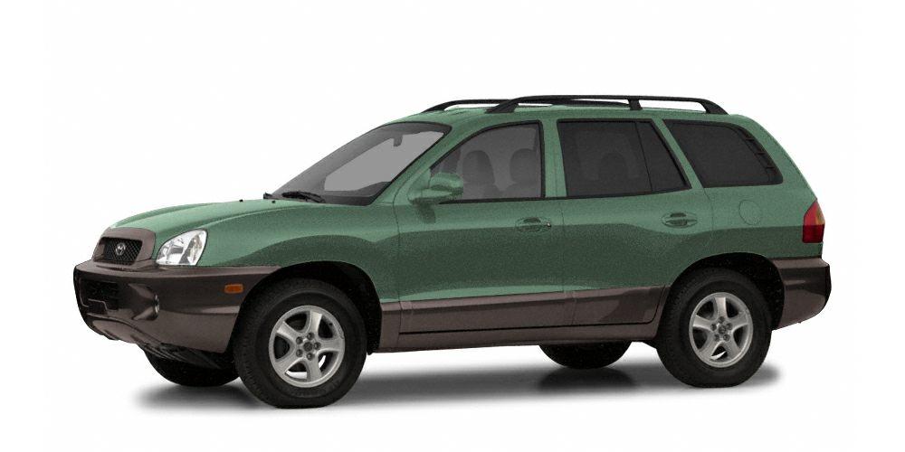 2003 Hyundai Santa Fe Base Grab a score on this 2003 Hyundai Santa Fe 4DR 2WD GL I4 AT before its