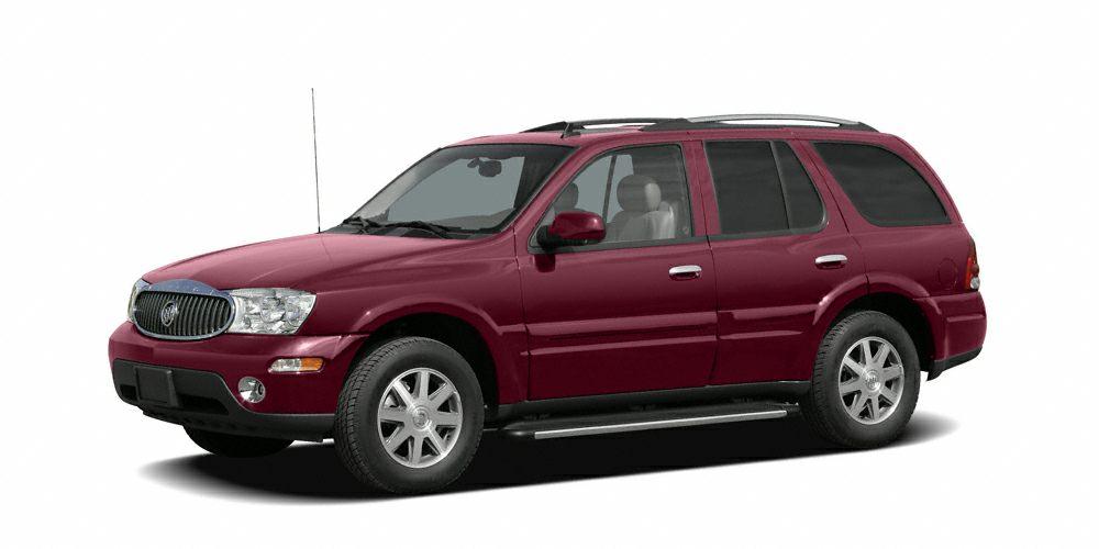 2006 Buick Rainier CXL Miles 93933Color Red Jewel Tintcoat Stock 326014B VIN 5GAES13M3622777