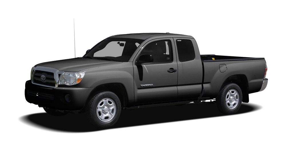 2009 Toyota Tacoma Base MAGNETIC GRAY METALLIC exterior and GRAPHITE interior CARFAX 1-Owner ONL