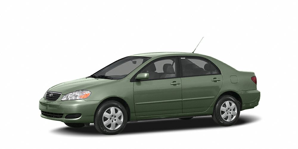 2005 Toyota Corolla LE LE trim CACTUSMICA exterior and DARK CHARCOAL interior EPA 38 MPG Hwy30