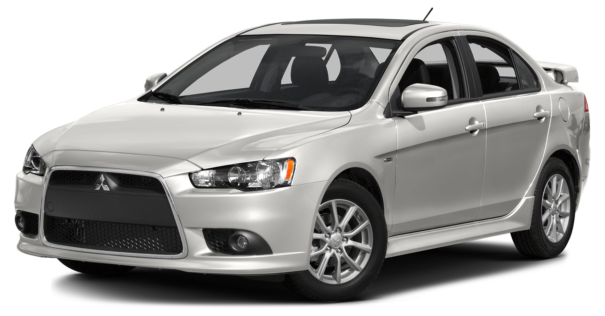 2015 Mitsubishi Lancer GT Miles 5Color Wicked White Metallic Stock 15M027 VIN JA32U8FWXFU0023