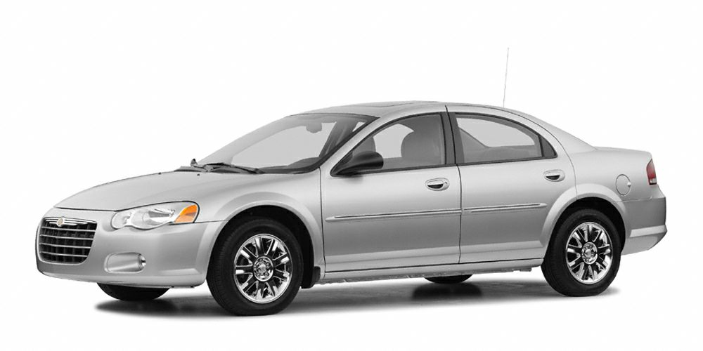 2004 Chrysler Sebring Limited Miles 134911Color Bright Silver Clearcoat Metallic Stock 116850B