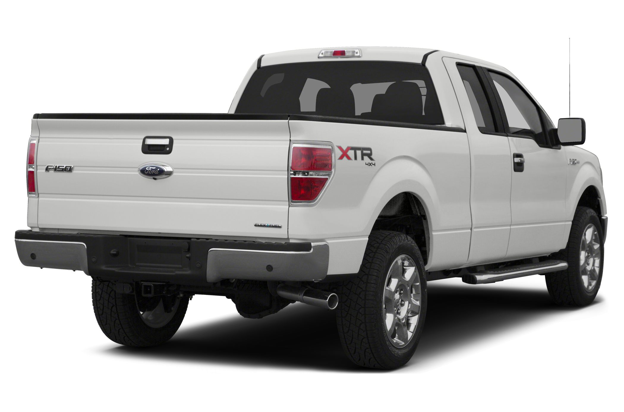 2014 Ford F-150 XLT CARFAX One-Owner Clean CARFAX White 2014 Ford F-150 4WD 6-Speed Automatic El