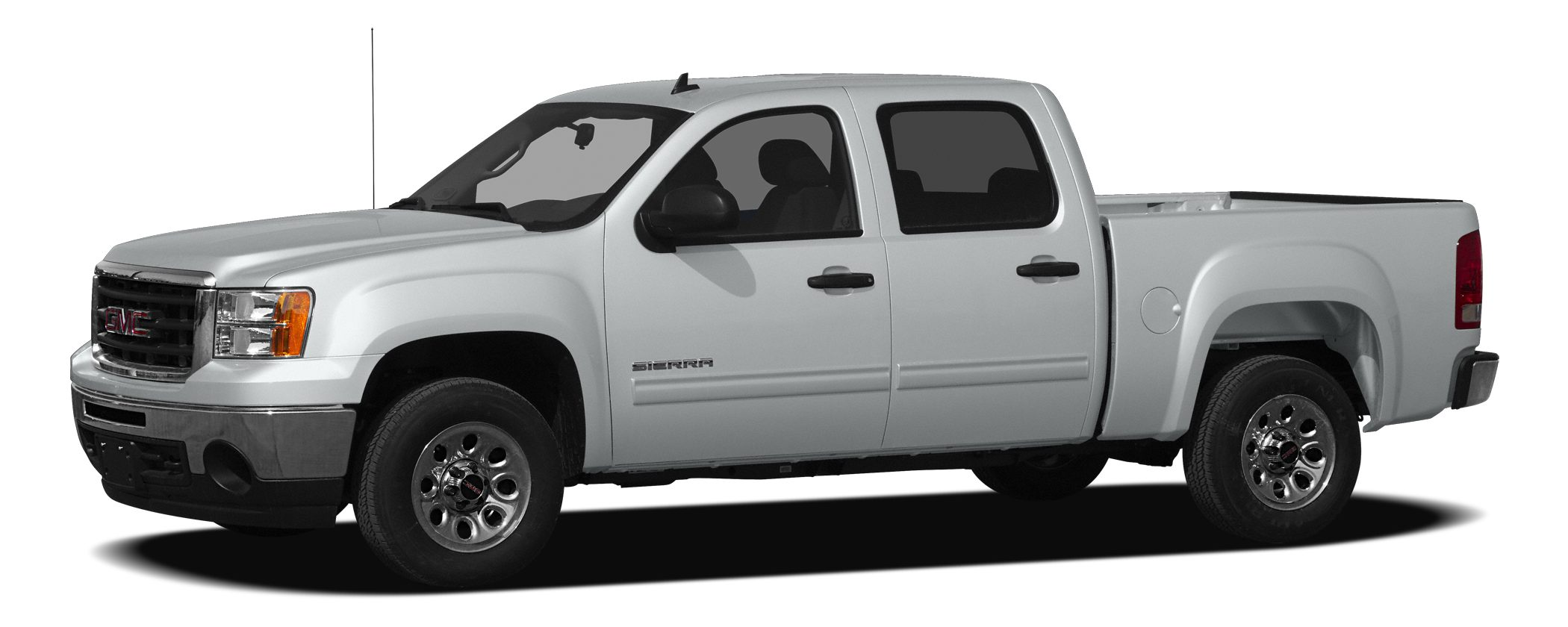 2010 GMC Sierra 1500 SLE This Silver 2010 GMC Sierra 1500 SLE might be just the crew cab for you