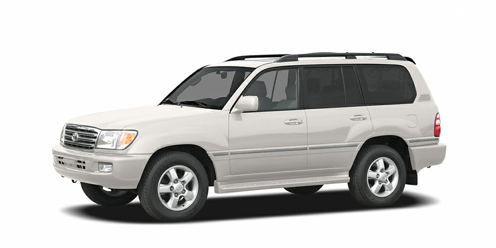 2004 Toyota Land Cruiser Base Grab a deal on this 2004 Toyota Land Cruiser 4DR 4WD V8 AT before it