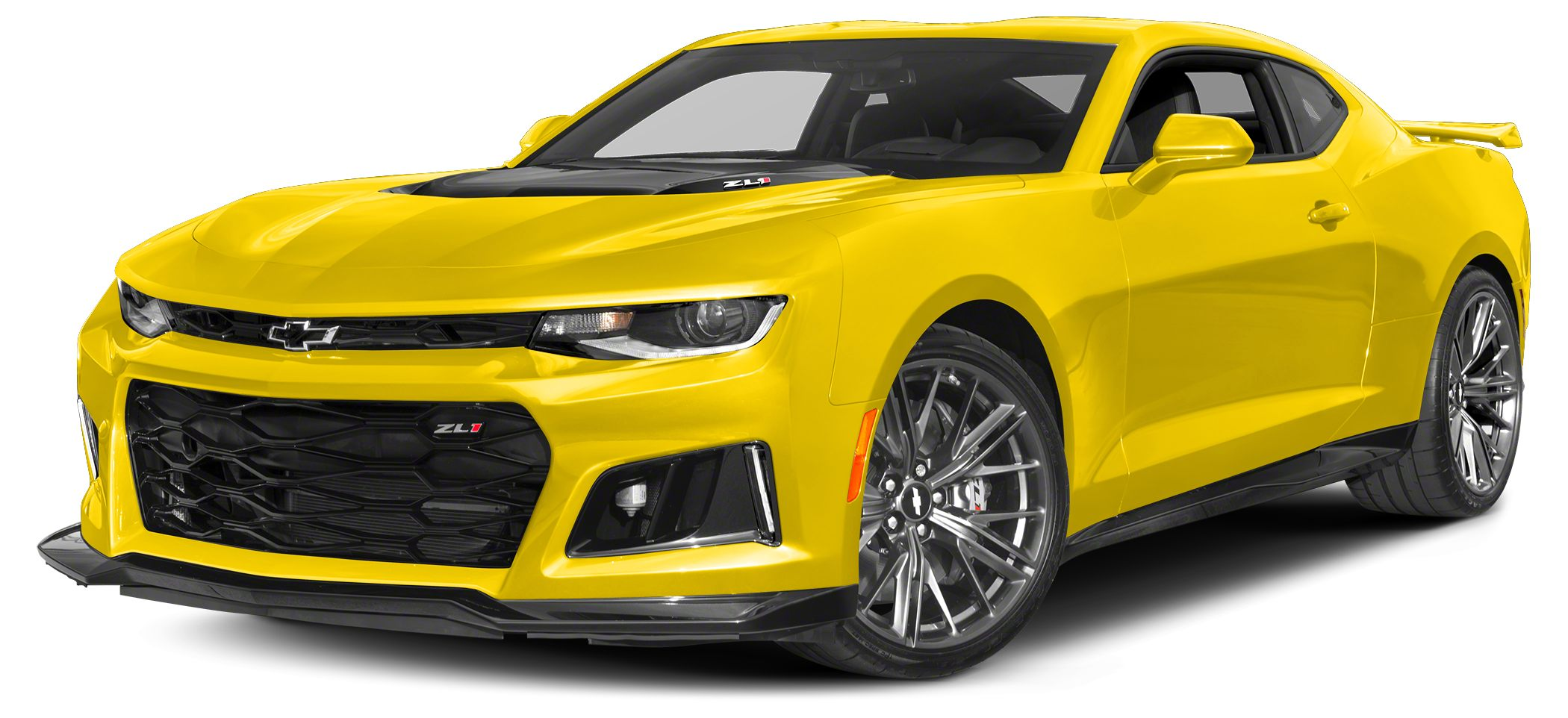 2018 Chevrolet Camaro ZL1 Miles 1077Color Bright Yellow Stock 180019 VIN 1G1FK1R63J0102047
