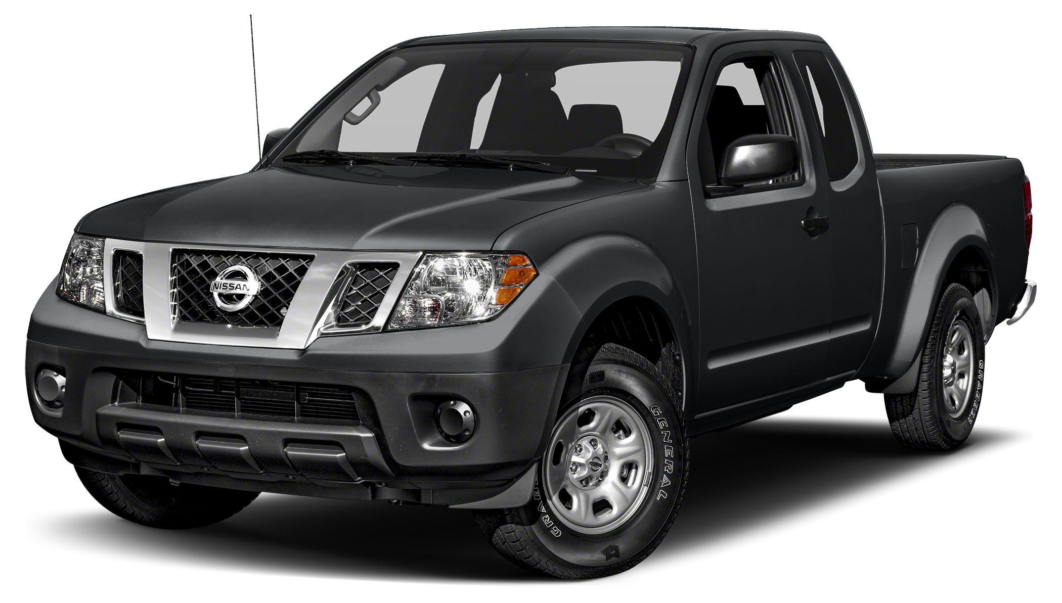 2017 Nissan Frontier S Miles 5Color Magnetic Black Stock NT8040 VIN 1N6BD0CT4HN751441
