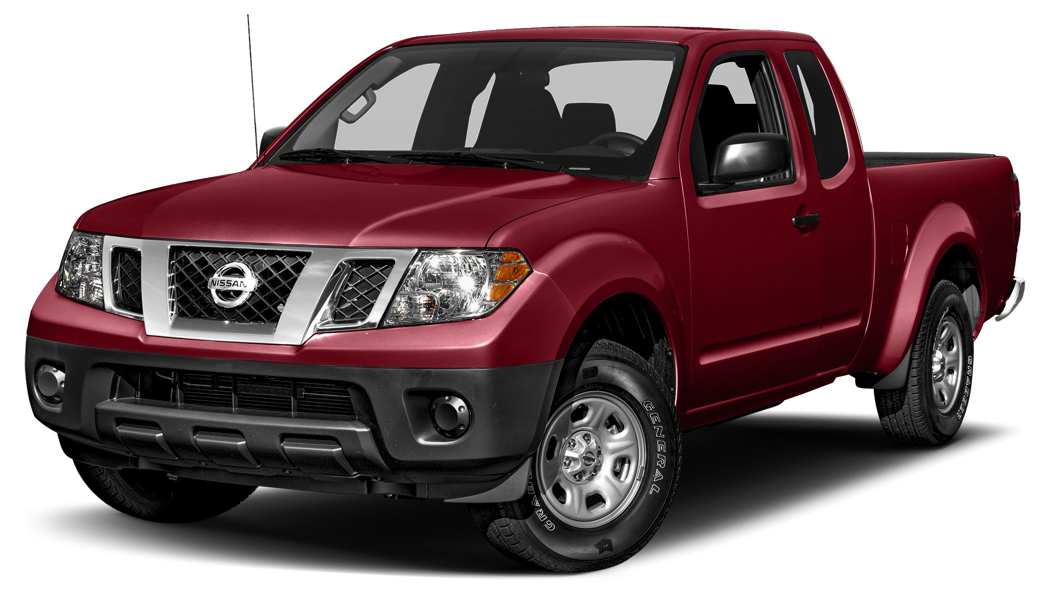 2015 Nissan Frontier S Miles 53250Color Cayenne Red Stock 7160516A VIN 1N6BD0CT8FN721193