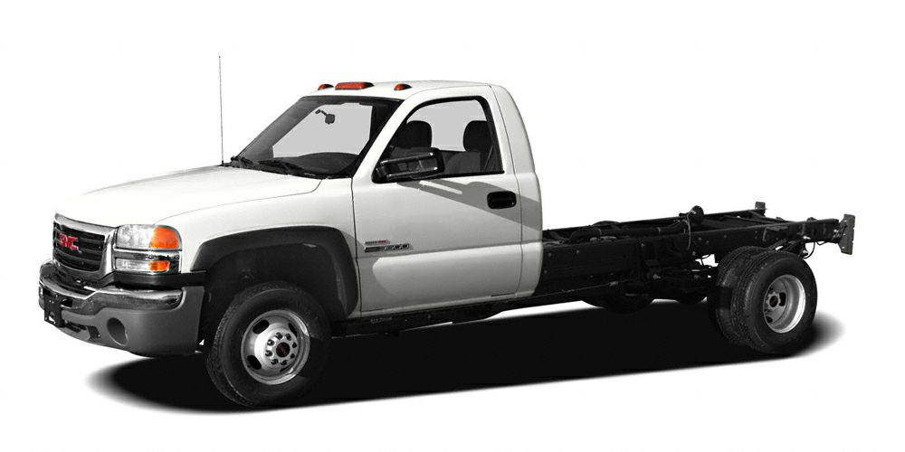 2007 GMC Sierra 3500 Chassis Cab WT Excellent Condition AUDIO SYSTEM AMFM STEREO TRANSMISSION