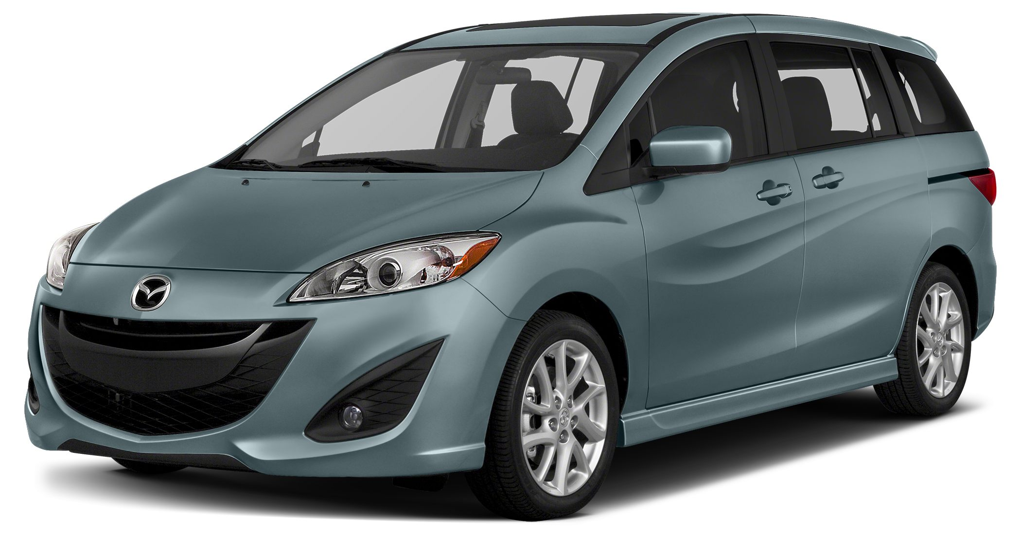 2013 Mazda MAZDA5 Sport Miles 26730Color Clear Water Blue Metallic Stock RM0504A VIN JM1CW2B