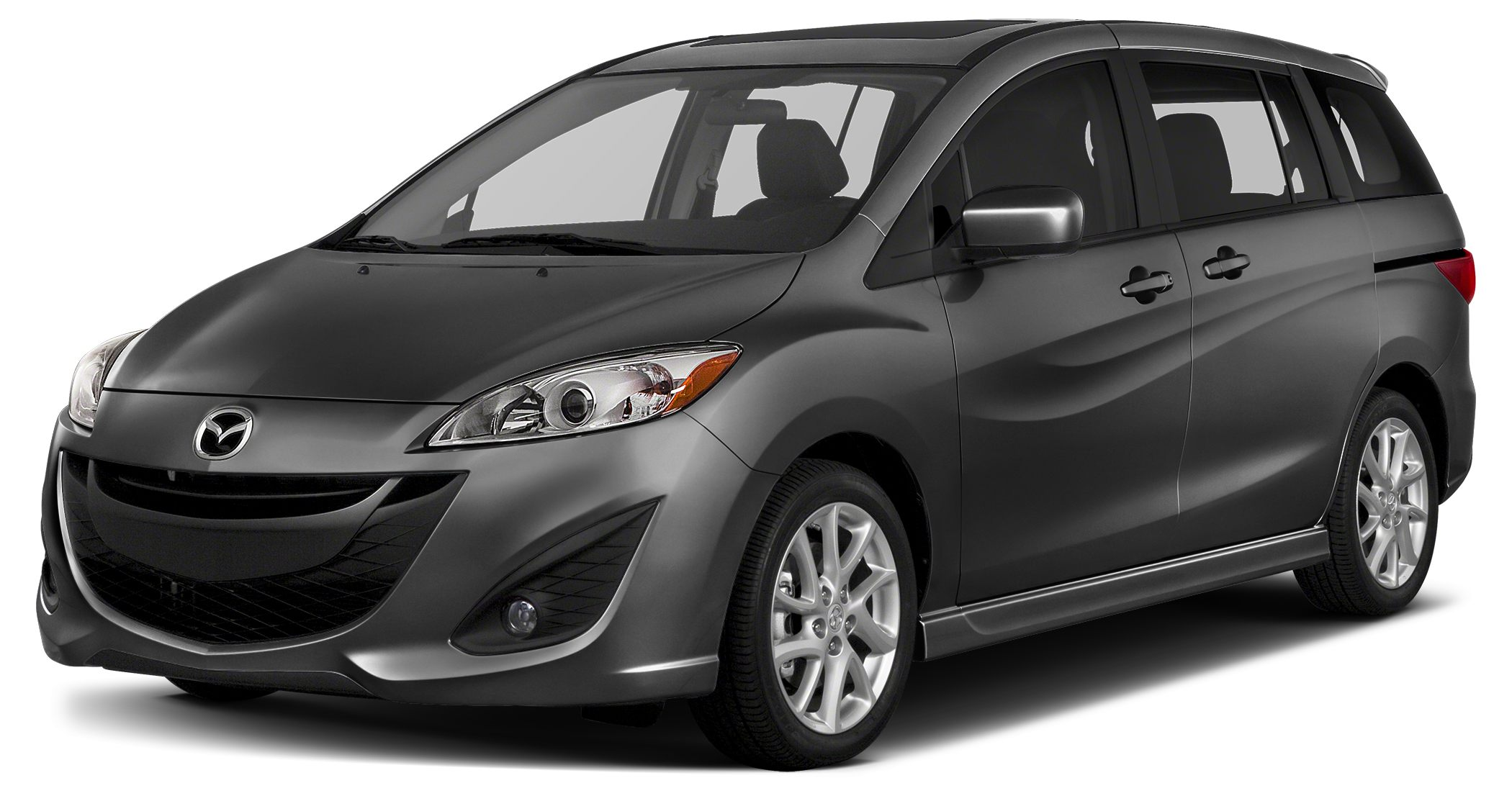 2015 Mazda MAZDA5 Sport With sporty performance pure athletic style and a roomy interior the Maz