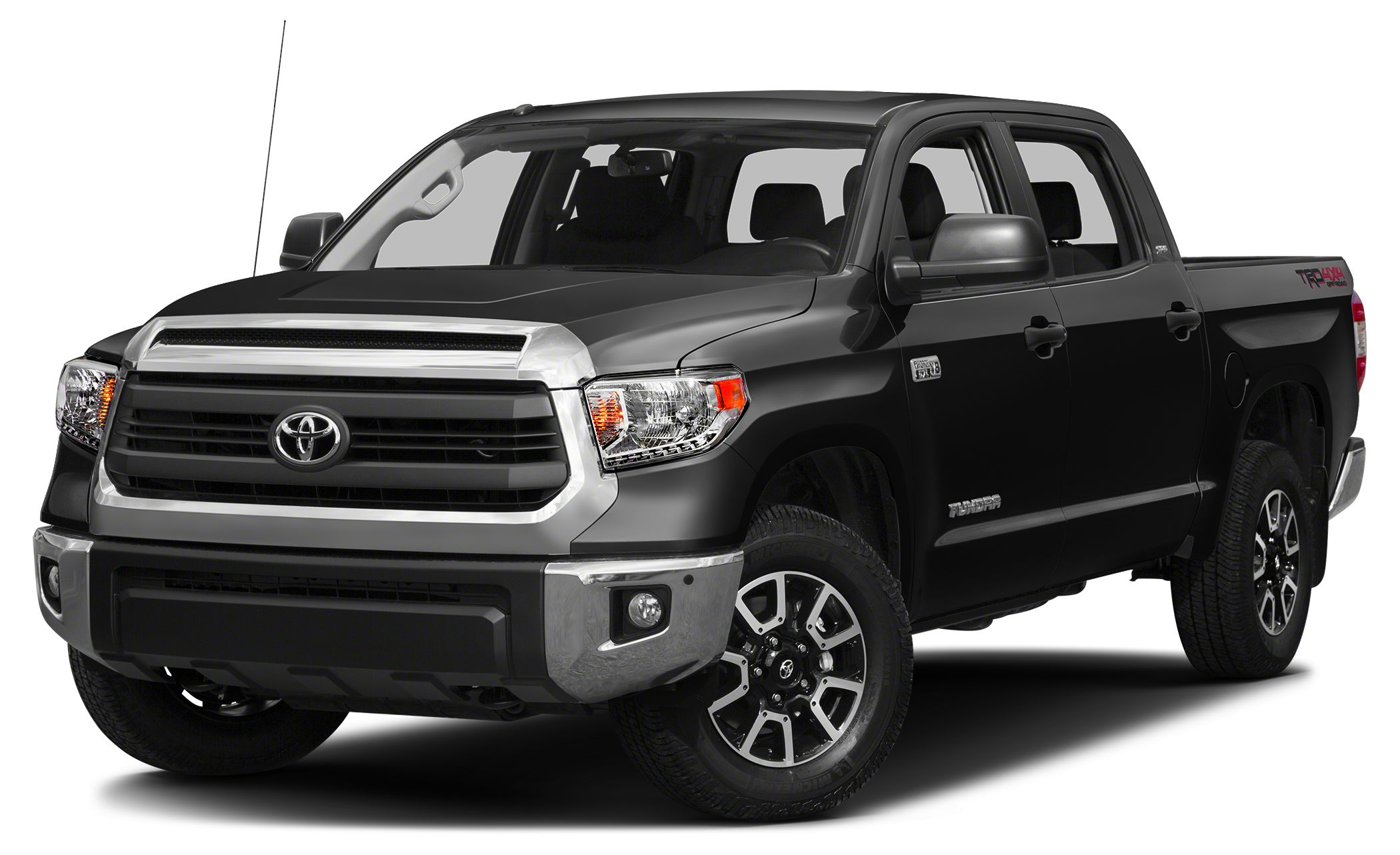 2015 Toyota Tundra SR5 CARFAX 1-Owner BLACK exterior and GRAPHITE interior Satellite Radio Back