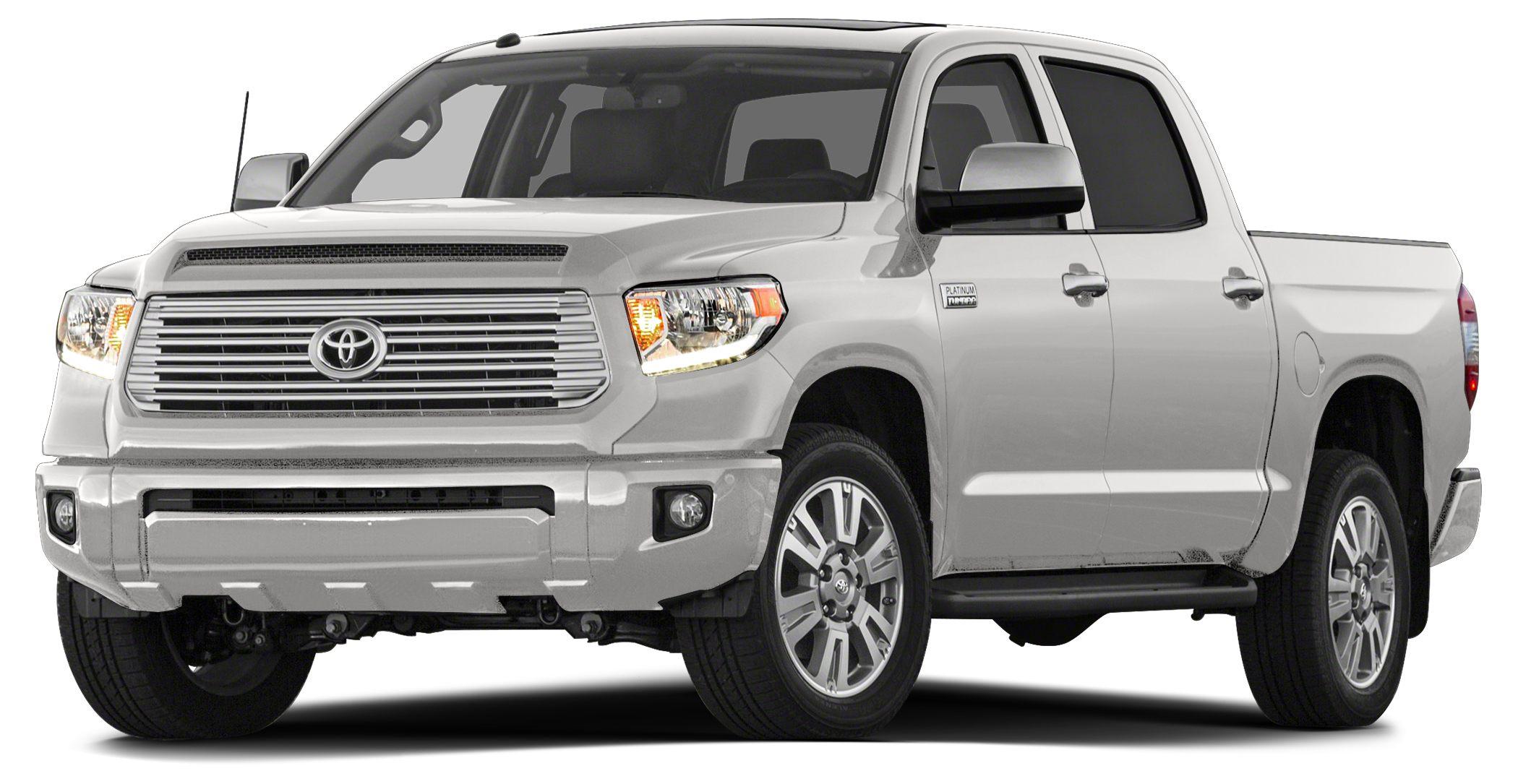2015 Toyota Tundra Platinum 1794 Edition  Platinum Edition - NavigationGPSNAV - Super White on