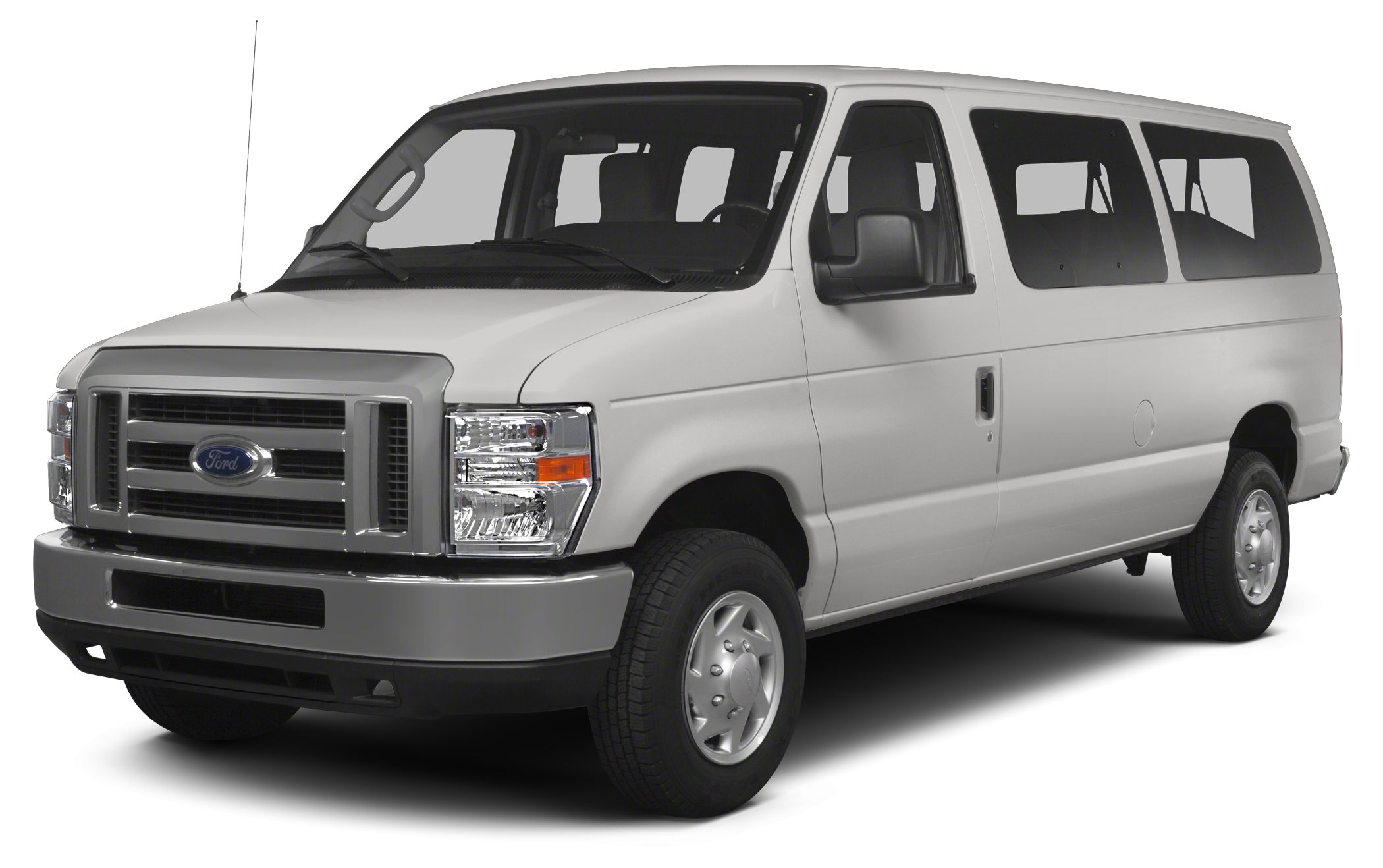 2013 Ford Econoline 350 Super Duty XLT 900 below NADA Retail Oxford White exterior and Medium Fl