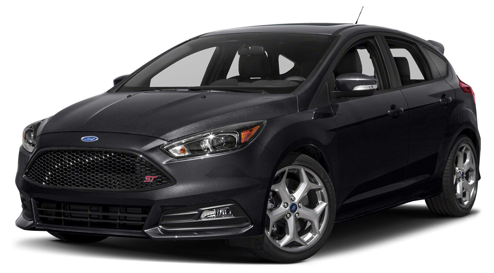2016 Ford Focus ST Base  KEY FACTORY FEATURES 2016 ST HATCHBACK WITH POWER SUNROOF MOONROOF 18