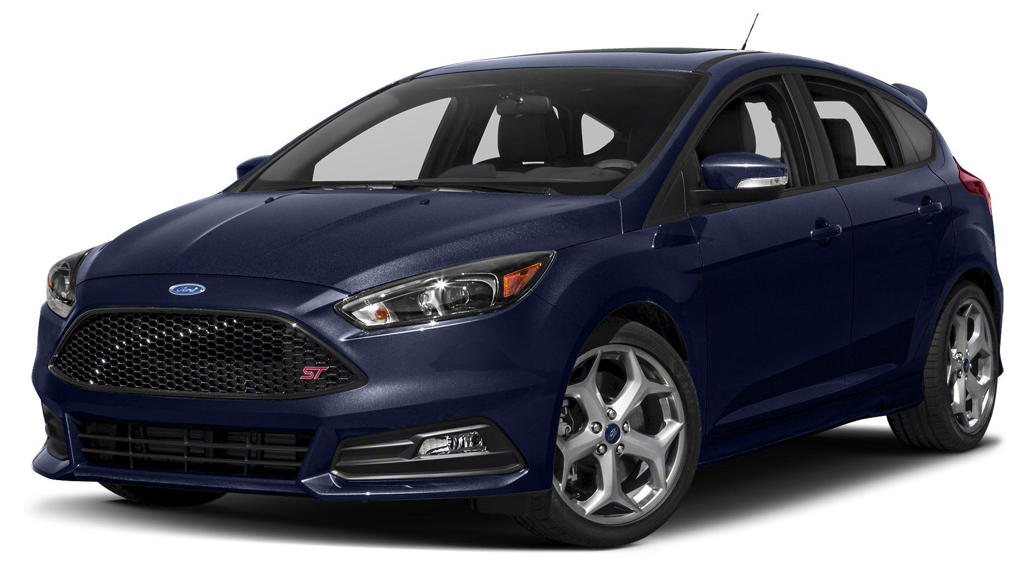 2017 Ford Focus ST Base Miles 0Color Kona Blue Stock 260633 VIN 1FADP3L99HL260633
