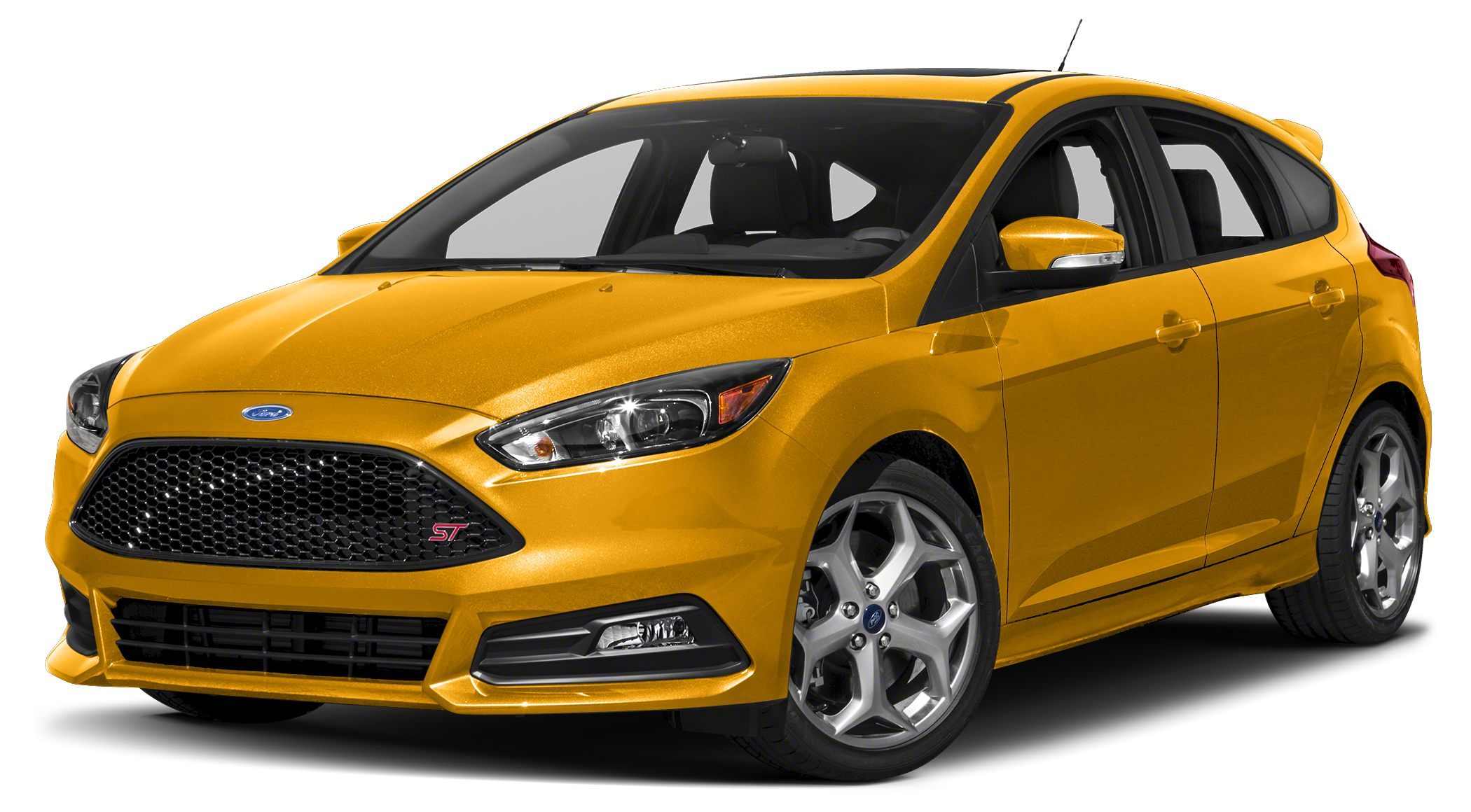 2016 Ford Focus ST Base It only takes a glance to see the 2016 Ford Focus dynamic new look One t