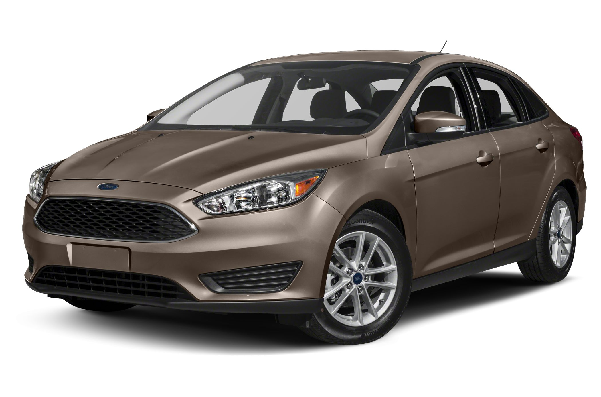 2015 Ford Focus SE Focus SE 4D Sedan 20L 4-Cylinder DGI DOHC FWD Magnetic and Charcoal Black