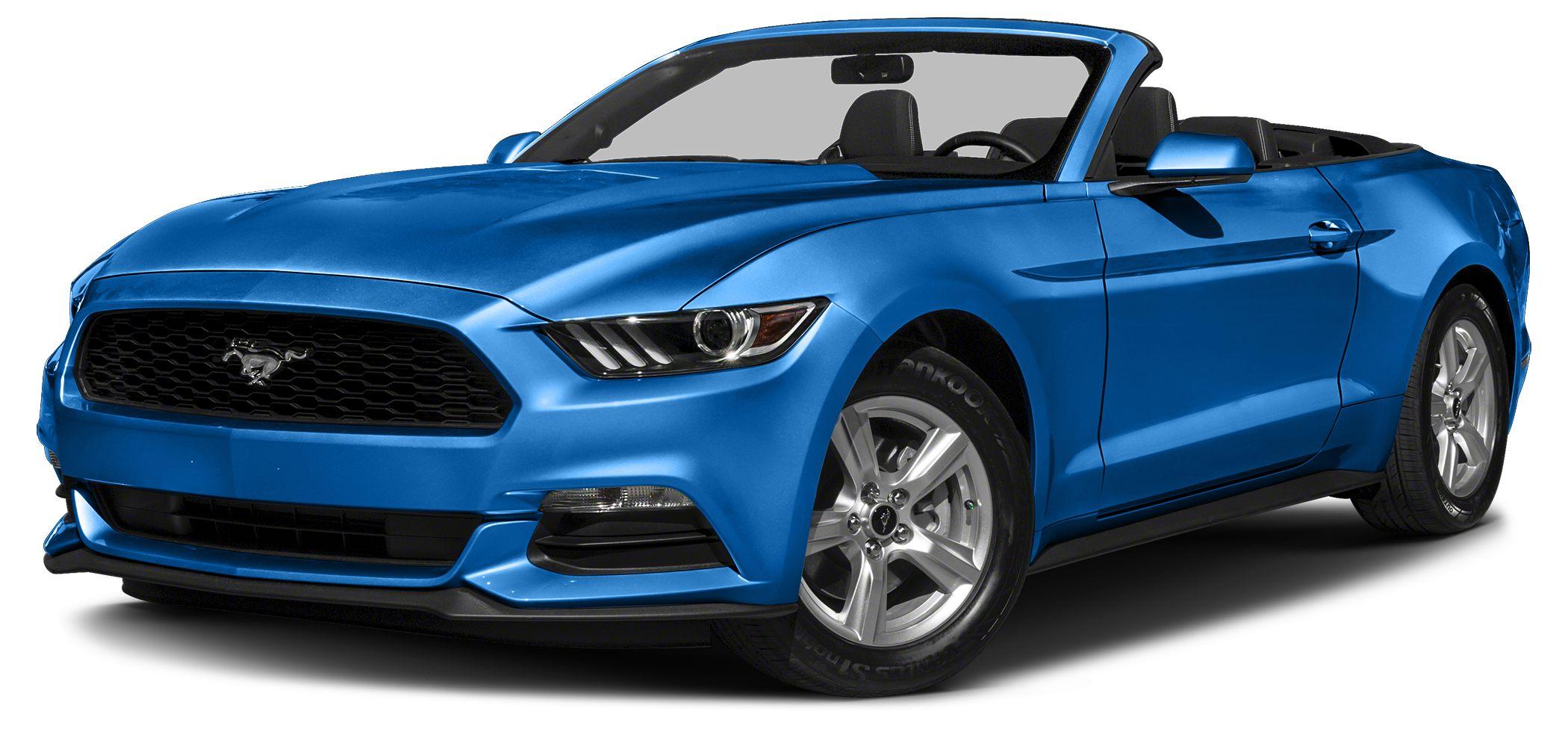 2017 Ford Mustang EcoBoost Premium GRABBER BLUE PREMIUM CONVERTIBLE NAVIGATION COOLE