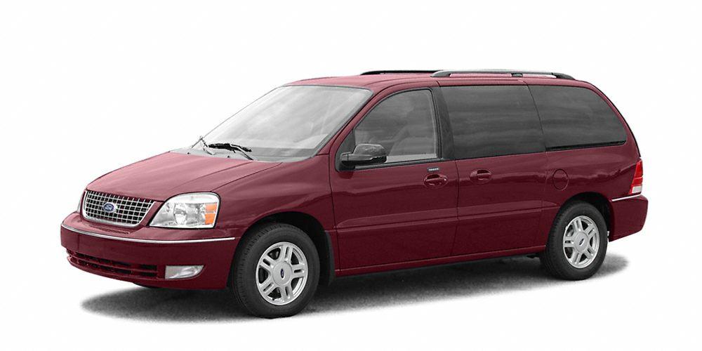2006 Ford Freestar SEL Very Nice Dark Toreador Red Metallic exterior and Flint interior SEL trim