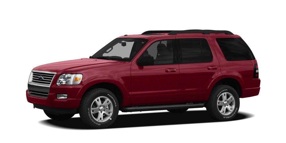 2010 Ford Explorer XLT Miles 104183Color Sangria Red Metallic Stock FUA10792 VIN 1FMEU7DEXAU