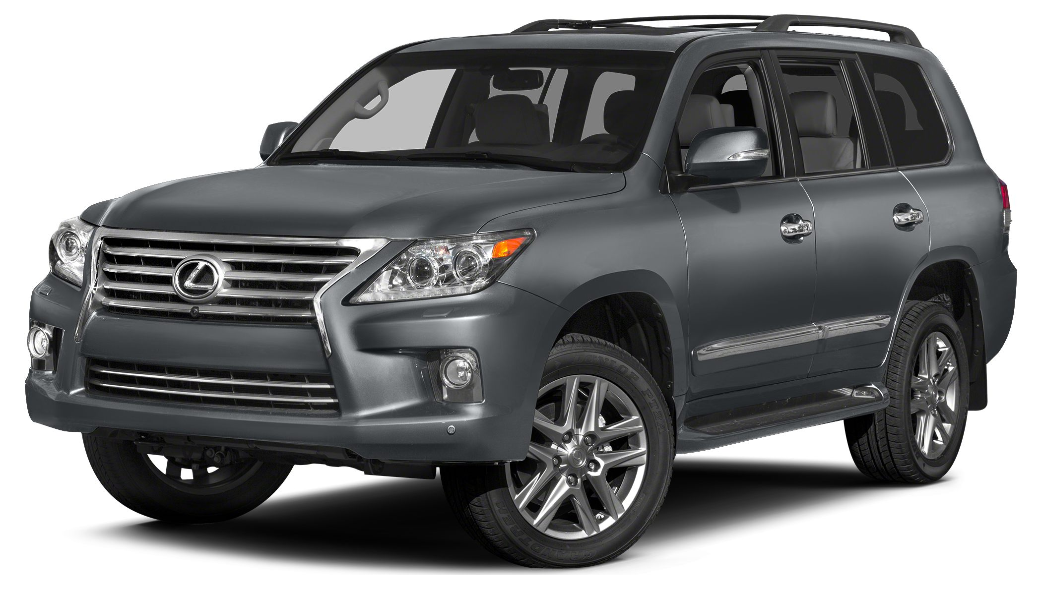2014 Lexus LX 570 Base Miles 17825Color Gray Stock 17186 VIN JTJHY7AXXE4132681