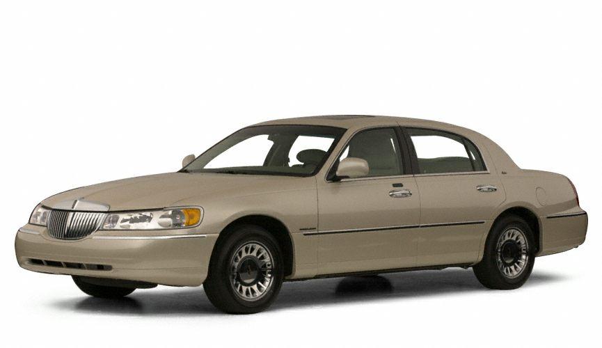 2000 Lincoln Town Car Cartier Miles 46020Color Tan Stock M15015B VIN 1LNHM83W2YY913857
