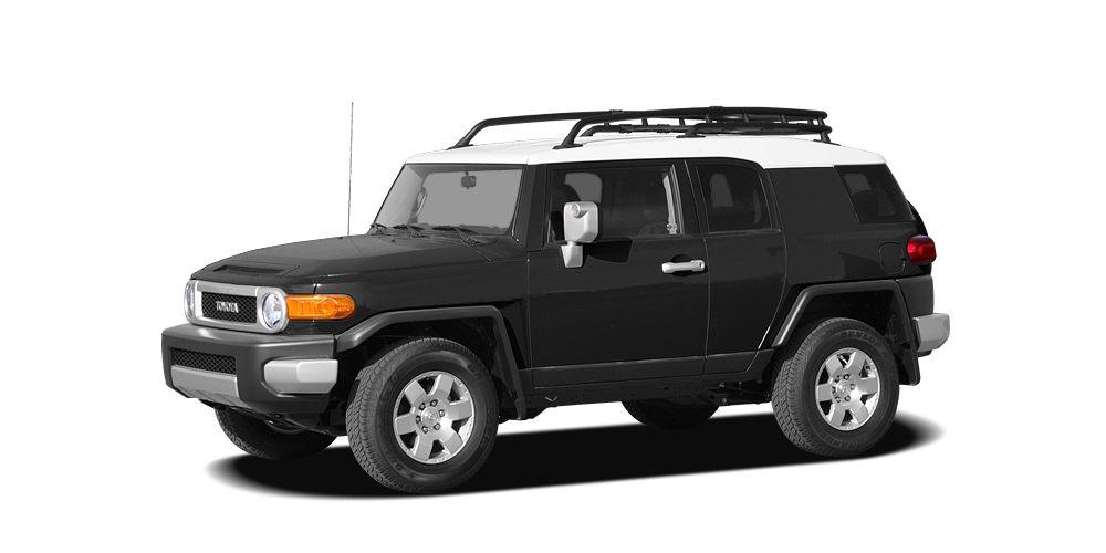2007 Toyota FJ Cruiser Base FJ Cruiser trim 500 below Kelley Blue Book Alloy Wheels Trailer Hi