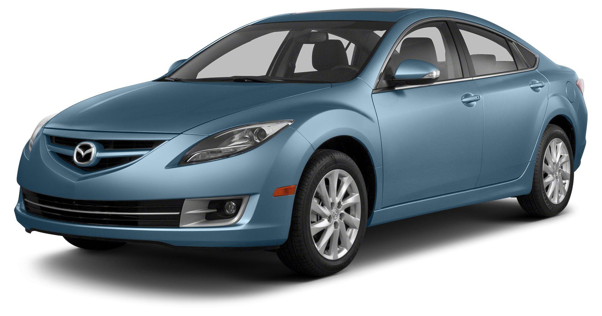 2013 Mazda MAZDA6 i Sport Miles 54874Color Steel Blue Mica Stock 165124A VIN 1YVHZ8BH3D5M147
