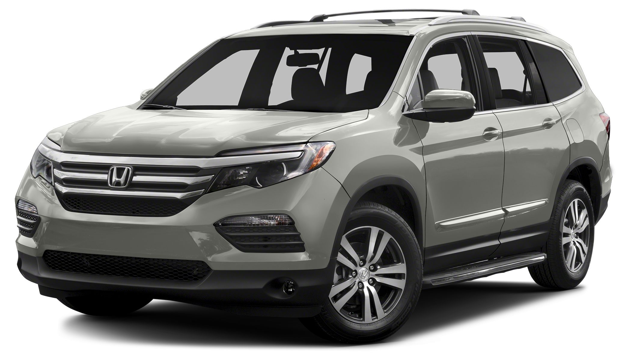 2016 Honda Pilot EX-L leather power tailgate one touch 2nd row seats bluetooth front power sea